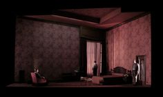 Klaus Grünberg, set design and light for: I went to the house but did not enter (Hilliard Ensemble), Théâtre de Vidy, Lausanne, 2008
