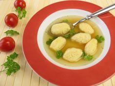 Halušky z krupice II. do polievky Thai Red Curry, Potato Salad, Potatoes, Ethnic Recipes, Food, Meal, Potato, Essen, Hoods