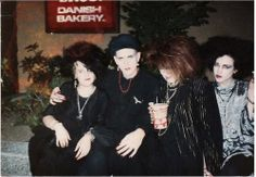 "Found under ""tradgoths"". My friends Nicole, Matthew, Mercy and Ron. 1985? Still friends with all. <3"