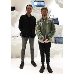 @danielarsham & @alexmustonen of @snarkitecture  Thank you for stopping by UA & SONS. #snarkitecture #DanielArsham #AlexMustonen #unitedarrows #unitedarrowsandsons staff MH by Zurvita Zeal Wellness