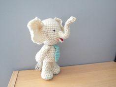 Crochet elephant toy Amigurumi elephant Kids by CrochetToysCorner