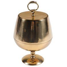 brass chalice ice bucket via mrs. lilien