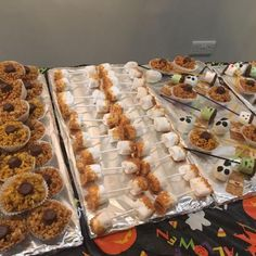 Some more yummy treats at our Halloween party!