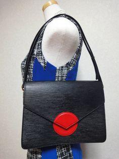Vintage Louis Vuitton rare epi mod purse with red di eNdApPi, $345.00