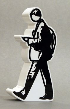 (usa) Walking in the city by Julian Opie Richard Long, A Level Art, Australian Artists, Land Art, Abstract Pattern, Modern Art, Pop Art, Fine Art Prints, Street Art