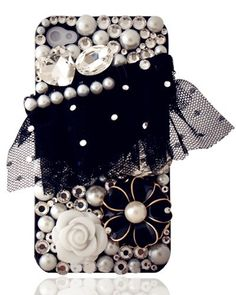 iPhone 4 / 4S Case - Camellia and Pearl by ana9112