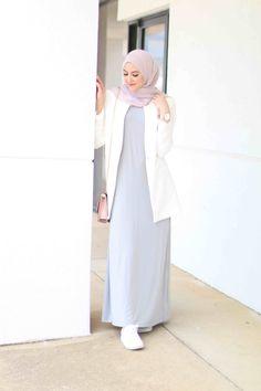 Source by ideas hijab Hijab Casual, Simple Hijab, Hijab Chic, Women's Casual, Islamic Fashion, Muslim Fashion, Modest Fashion, Classy Fashion, Fashion Dresses