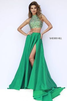 I like this color wish the skirt had a little more texture and i deff would have considered it- Sherri Hill