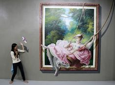 Students become part of the art in Cubao 3D museum Art in Island | Lifestyle | GMA News Online