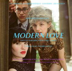 Sample idea for the Modern Love poster - using Audrey font