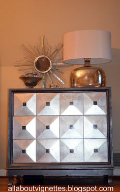 All About Vignettes: Glam Dresser