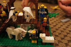 Lego Nativity-picture directions