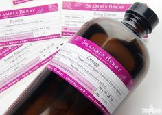 New Bramble Berry Product Labels!