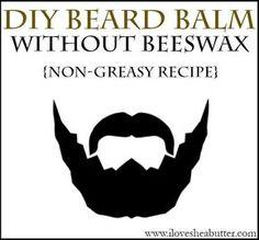 DIY Shea Butter Beard Balm Recipe | Without Beeswax