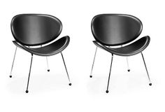 Black Match Lounge Chairs, Pair on OneKingsLane.com249/415
