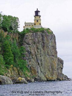 Split Rock Lighthouse Lake Superior Minnesota by sixkidsandacamera, $25.00
