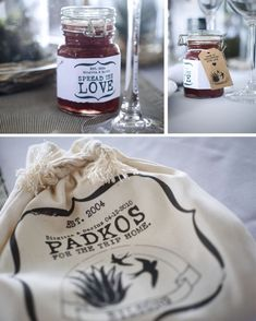 Karoo farm-style wedding favors, jam and biltong padkos Winter Wedding Favors, Beach Wedding Favors, Unique Wedding Favors, Unique Weddings, Wedding Prep, Diy Wedding, Wedding Planning, Wedding Ideas, Elope Wedding