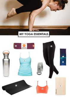 YOGA ESSENTIALS... Might need to check out the May she refers to; it helps her wrists and her grip, which are my two biggest problems!