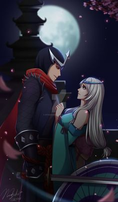 some hayabusa X Kagura of mobile legends for u guys Mobile Legends Mobile Legend Wallpaper, Hero Wallpaper, Moba Legends, Alucard Mobile Legends, I Love You Images, Anime Henti, Hanabi, Games Images, My Collection