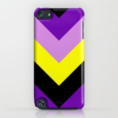 V-lines iPod Touch 5th gen. Case by RobozCapoz - $35.00