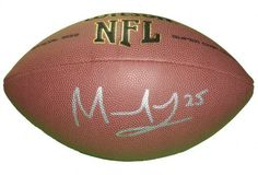 Detroit Lions Mikel Leshoure Autographed NFL Wilson Composite Football, Illinois Fighting Illini, Proof Photo by Southwestconnection-Memorabilia. $89.99. This is a Mikel Leshoure autographed NFL Wilson composite football. Mikel has signed the football in silver paint pen for us. Check out the photo of Mikel signing for us. Proof photo is included for free with purchase. Please click on images to enlarge.