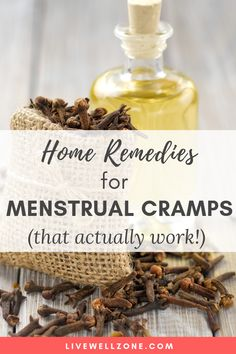 Home Remedies For Menstrual Cramps (That Actually Work!)