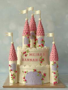 Princess castle cake inspired by Poppy Pickering
