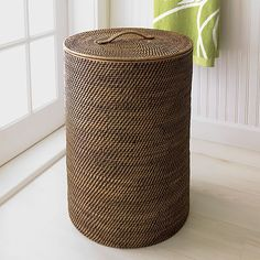 Sedona Hamper in Bath Accessories | Crate and Barrel
