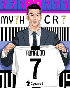 Cr7 Ronaldo, Cristiano Ronaldo, Ronaldo Real Madrid, Neymar Jr, Soccer Players, Football, Fictional Characters, Collection, Dibujo