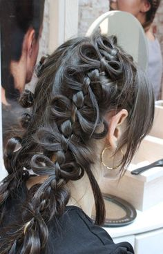 Cute Idea for Two Braids