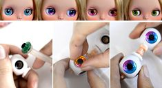 CUSTOMIZING A BLYTHE DOLL ~ episode 2 ~ CHANGING THE EYECHIPS