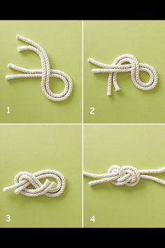 GREAT!  DIY how to - nautical knot