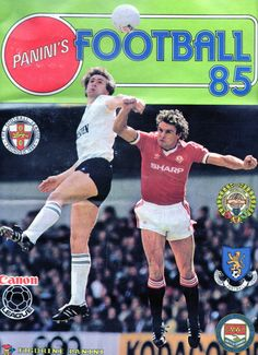 Panini's Football 85 (Front Cover)