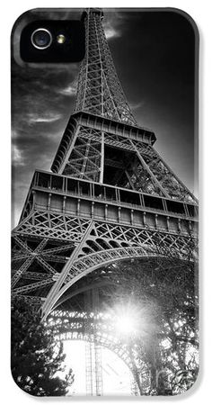 Eiffel Tower Light iPhone and Galaxy Case by John Rizzuto