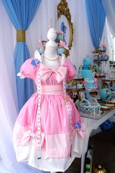 Make your fondest wishes come true with the ideas inside this Fairy Godmother Cinderella Birthday here at Kara's Party Ideas. Cinderella Baby Shower, Cinderella Sweet 16, Cinderella Fairy Godmother, Cinderella Theme, Cinderella Birthday, Cinderella Dresses, Princess Birthday, Cinderella Nursery, Cinderella Quinceanera Themes
