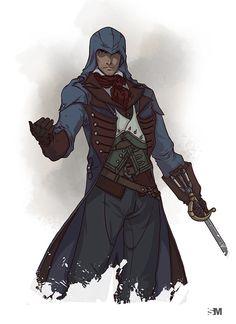 Assassin's Creed Unity - Arno Dorian by BrokenNoah