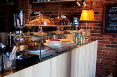 café johan & nystrom in Helsinki,Katajanokka Helsinki, Finland, Table, Furniture, Beautiful, Home Decor, Things Happen, Decoration Home, Tables
