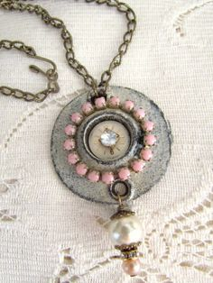 My Salvaged Treasures: Hardware Jewelry Creations