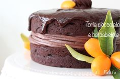 La dolce cucina di Paola: Torta cioccolato e barbabietola - Chocolate beetroot cake