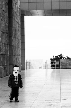 """""""Masked Boy At Getty Museum""""  Photo by Jeff Galfer Jeff Galfer Photography www.jeffgalferphotography.com"""