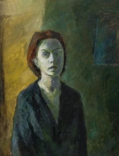 ELGA SESEMANN  Portrait of a Woman (1944)