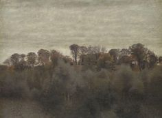 Vilhelm Hammershøi (1864-1916)  Summer Landscape. From Ryet near Lake Farum