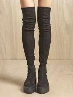 Damir Doma Skinny Fit creeper boots #luxury #modewalk
