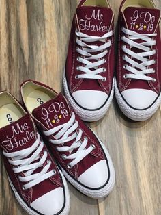 I DO Embroidered Bride wedding shoes, Groom Wedding wedding shoes, Monogrammed Converse,Sneakers,Decorated Converse (Low Top) - bride shoes wedding Converse Wedding Shoes, Wedding Sneakers, Wedding Shoes Bride, Groom Shoes, Bride Shoes, Wedding Groom, Wedding Attire, Bride Converse, Bride Sneakers