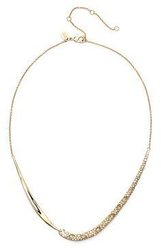 Alexis Bittar 'Miss Havisham' Encrusted Drape Frontal Necklace | Nordstrom
