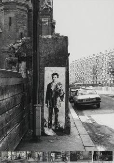 Ernest Pignon-Ernest, Rimbaud dans Paris, 1978