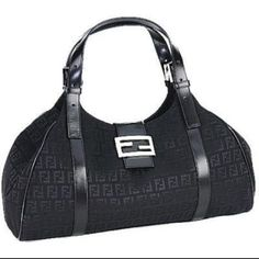 Fendi Black Hobo Bag Dkny Handbags 8ff662c118e78