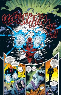 Month of Cool Avengers/X-Men Comic Book Moments - Magneto Tears Apocalypse a New One Comic Book Characters, Marvel Characters, X Men, We Are The Mighty, Mark Bagley, Brian Michael Bendis, Evil Villains, Story Arc, Comic Page