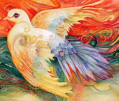 """""""Pray for Peace (zoom)"""" par Helena Nelson-Reed"""