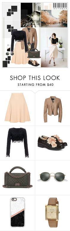 """Silk"" by mariettamyan ❤ liked on Polyvore featuring Jonathan Simkhai, BCBGMAXAZRIA, Stone_Cold_Fox, Pokemaoke, Chanel, Ray-Ban, Casetify and Anne Klein"